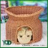 Double Floor Pot Style Bamboo Pet Nest, Pet House, Pet Home.