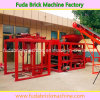 Qt4-18 Interlocking Block Machine with Automatic Hydraulic Function