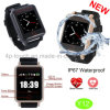2g/GSM Elderly Waterproof GPS Tracker Watch with Heart Rate Monitor Y12
