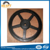 Black Chain Cast Iron Large Sprocket