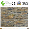 Split Face Rustic Golden Quartz/Quartzite /Slate Bathroom Wall Tile Panel Stone Cladding