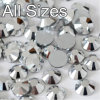 5mm Glass Crystal Rhinestones Flat Back Loose Rhinestones Crystal (FB-ss20 silver)