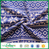 Two Sides Brushed Polar Fleece Fabric with Print