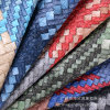 Woven Pattern High Quality PU Bag Leather Artificial Leather (HST379)