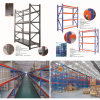 Warehouse Storage Pallet Rack with 100~3000kg Capacity