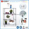 Home Used Adjustable Chrome Metal Bathroom Shelf (CJ-B1118C)