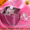 Crystal Sliding USB Flash Memory for Present (YT-6263)