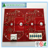 4 Layer Multilayer PCB with Red Soldermask