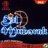 LED Eid Mubarak Decorations Strip Rope Light for Ramadan