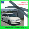 Window Shield Sun Visor Vent Wind Rain for Hodna Odyssey 01
