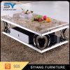 Home Furniture Heart Shaped Stainless Steel Coffee Table