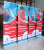 High Quality Teardrop Base Banner Roll up Display Standee