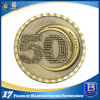 3D Zinc Alloy Die-Casting Souvenir Antique Brass Coin (Ele-C121)
