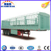 3 Axle Warehouse Tailgate Trailer/Bulk Goods Side Wall Vehicles Stake Trailer