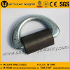 36 T Forged Container Lashing D Ring with Bracket