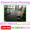 10, 15, 20, 25mm Gym Fitness Rubber Flooring