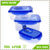 3 in 1 Set Airproof Food Storage Container Locking Lids Food Box, Plastic Meal Storage