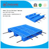 1100*1100*170mm HDPE Plastic Pallet Grid 3 Runners Heavy Duty Racking Loading Plastic Tray for Warehouse Products