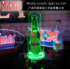 Acrylic Advertising LED Liquor Display