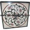 Marble Mosaic Medallion, Waterjet Medallion