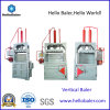 Vertical Downstroke Manual Tie Baler for Plastic Bottles, Paper