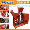 Diesel and Electric Model Hr1-25 Advanced Hydraulic Lego Brick Machine Soil Clay Interlocking Brick Making Machine Price