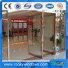 Rocky Thermal Break Double Glazed Ground Spring Door