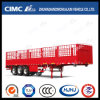Hot Sale Straight Beam Single Tire 3axle Stake Semi Trailer