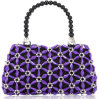 New Arrival Design crystal Beaded Evening Bags for Ladies Ccrylic Tote Bag