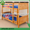 Pine Wood Bunk Bed in Honey Color