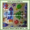 3D Glitter Puffy Sticker