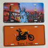 Customized Metal Number Plate Auto Car Accessories