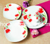 Flower Decor 20PCS Dinner Set
