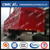 Cimc Huajun High Quality 3 Axles Gooseneck Stake Semi Trailer