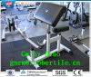 Gym Rubber Flooring Tile /Rubber Walking Tile Mats/ Recycled Rubber Tiles Wearing-Resistant Rubber Tile