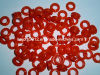 Red Rubber Grommet Rubber Seal Ring