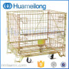 Warehouse Supermarket Storage Cage with Wheels