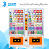 Ce Certified Bill and Coin Acceptor Automatic Vending Machine