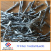 Concrete Anti-Cracking Polypropylene Polyethylene Polyolefin Fiber