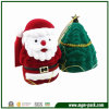 Lovely Santa and Christmas Tree Shape Plastic Gift Box