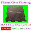 Crossfit Gym Ruber Flooring Tiles