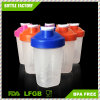 400ml BPA Free Shaker Cup Plastic Protein Shaker Bottle