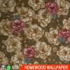 Newest Fashion Deep Embossed Vinyl Wall Paper