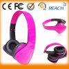 Stereo Hifi Tot Sale Pink Headphone