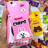Cute Cartoon Mirror PC Phone Case for iPhone 6/6 Plus
