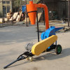 Mobile Wheels Rice Husk Crusher for Biofuel Purpose