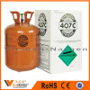 Mixed Colorless Odorless No Turbid Gas Refrigerant R407c