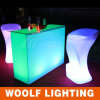 LED Furniture Manufacturer / 2015 New LED Rectangle Cocktail Coffee Table