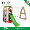 Children Play House Swing Set with Slide