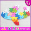 Non-Toxic Children Wooden ABC Alphabet Puzzle Game for Promotion W14I026